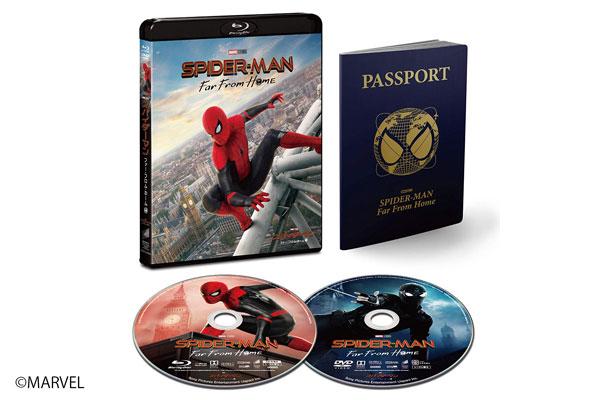『スパイダーマン:ファー・フロム・ホーム』のDVD&Blu-rayセットが2019年12月4日に発売!日本限定スチールブックも!