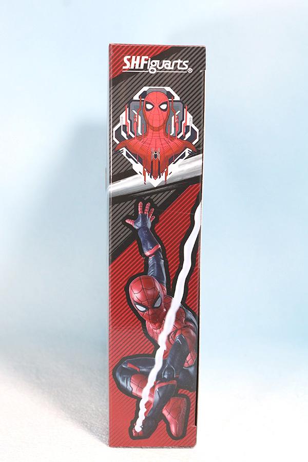 S.H.フィギュアーツ スパイダーマン アップグレード・スーツ(ファー・フロム・ホーム) レビュー パッケージ