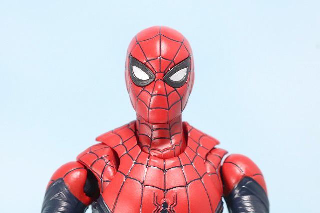 S.H.フィギュアーツ スパイダーマン アップグレード・スーツ(ファー・フロム・ホーム) レビュー 付属品スパイダーウェブ