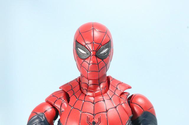 S.H.フィギュアーツ スパイダーマン アップグレード・スーツ(ファー・フロム・ホーム) レビュー 付属品 スパイダーウェブ