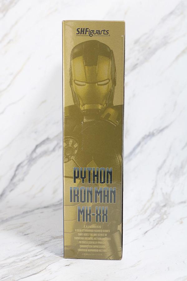 S.H.フィギュアーツ アイアンマン マーク20 パイソン レビュー パッケージ