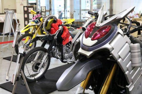 マジモンのライダーマシン!Honda ウエルカムプラザ青山『仮面ライダーマシン特別展示』イベントレポート
