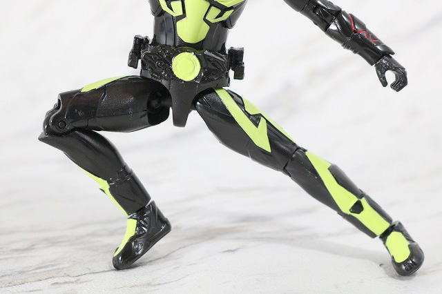 RKF RIDER KICK'S FIGURE 仮面ライダーゼロワン ライジングホッパー レビュー 可動範囲
