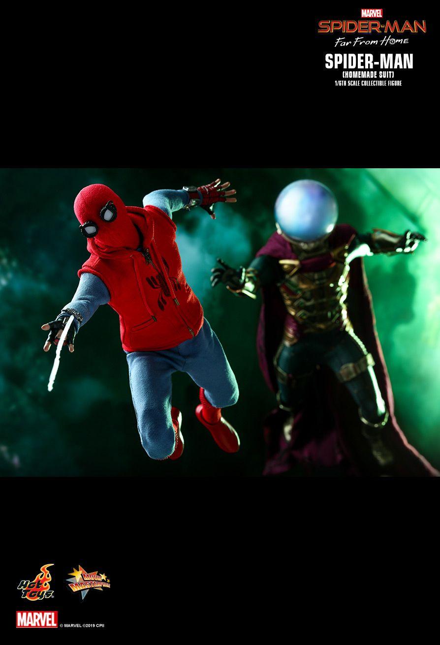 ホットトイズ ムービーマスターピース スパイダーマン ホームメイドスーツ ファーフロムホーム