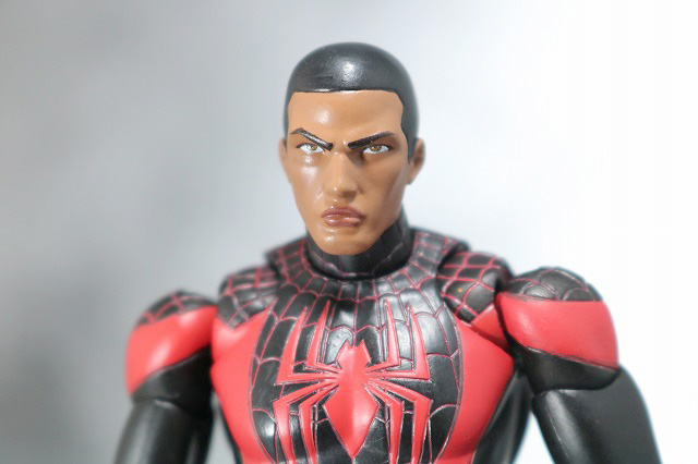 MAFEX スパイダーマン マイルス・モラレス 付属品 素顔頭部