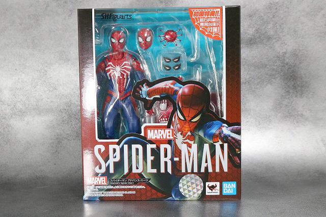 S.H.フィギュアーツ スパイダーマン アドバンス・スーツ(Marvel's Spider-Man) レビュー パッケージ