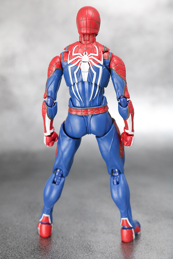 S.H.フィギュアーツ スパイダーマン アドバンス・スーツ(Marvel's Spider-Man) レビュー 全身