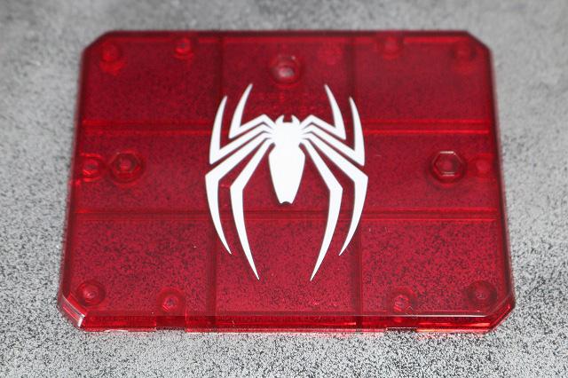 S.H.フィギュアーツ スパイダーマン アドバンス・スーツ(Marvel's Spider-Man) レビュー 付属品 魂ステージ