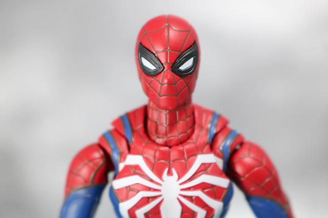 S.H.フィギュアーツ スパイダーマン アドバンス・スーツ(Marvel's Spider-Man) レビュー 付属品 目パーツ