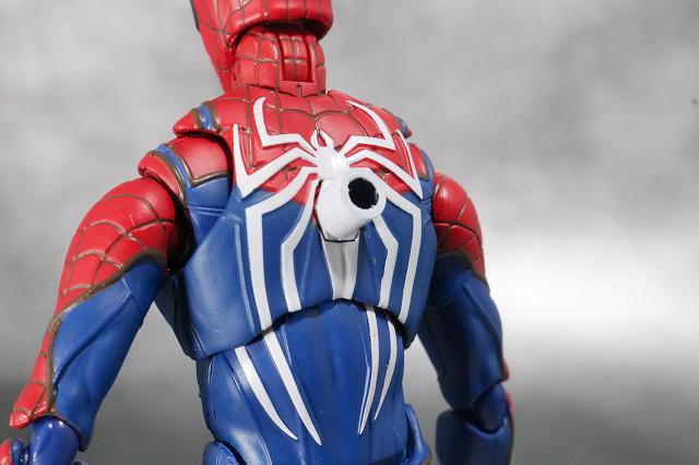 S.H.フィギュアーツ スパイダーマン アドバンス・スーツ(Marvel's Spider-Man) レビュー 付属品 アタッチメントパーツ