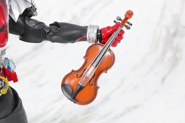 S.H.フィギュアーツ ブラッディ・ローズ バイオリン レビュー キバ 全体