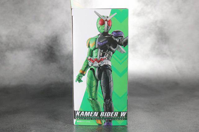 RKF RIDER KICK'S FIGURE 仮面ライダーW サイクロンジョーカー ハードボイルダー レビュー パッケージ