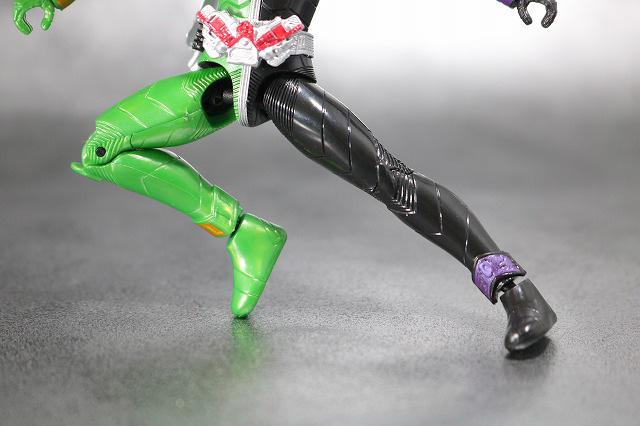 RKF RIDER KICK'S FIGURE 仮面ライダーW サイクロンジョーカー レビュー 可動範囲