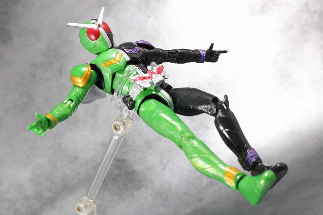 RKF RIDER KICK'S FIGURE 仮面ライダーW サイクロンジョーカー ハードボイルダー レビュー アクション