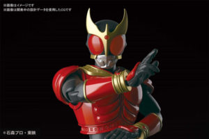 Figure-rise Standard 仮面ライダークウガ マイティフォームが3月発売決定!プラモでクウガを組み立てろ!