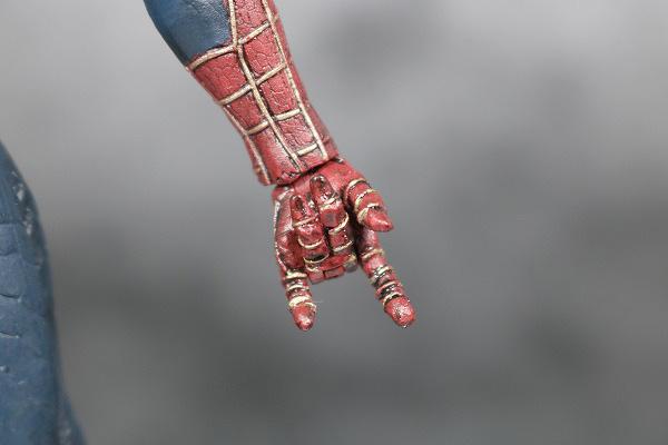 MOVIE REALIZATION スパイダーマン ブラックスパイダーマン レビュー 可動範囲