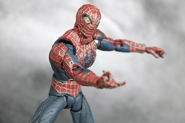 MOVIE REALIZATION スパイダーマン ブラックスパイダーマン レビュー アクション