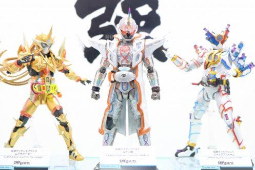 最強フォーム!S.H.フィギュアーツからゴースト ムゲン魂・エグゼイド ムテキ・ビルド ジーニアスが登場!