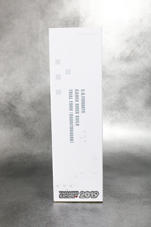 S.H.フィギュアーツ 仮面ライダービルド トライアルフォーム ラビットドラゴン レビュー パッケージ 魂ネイション2019
