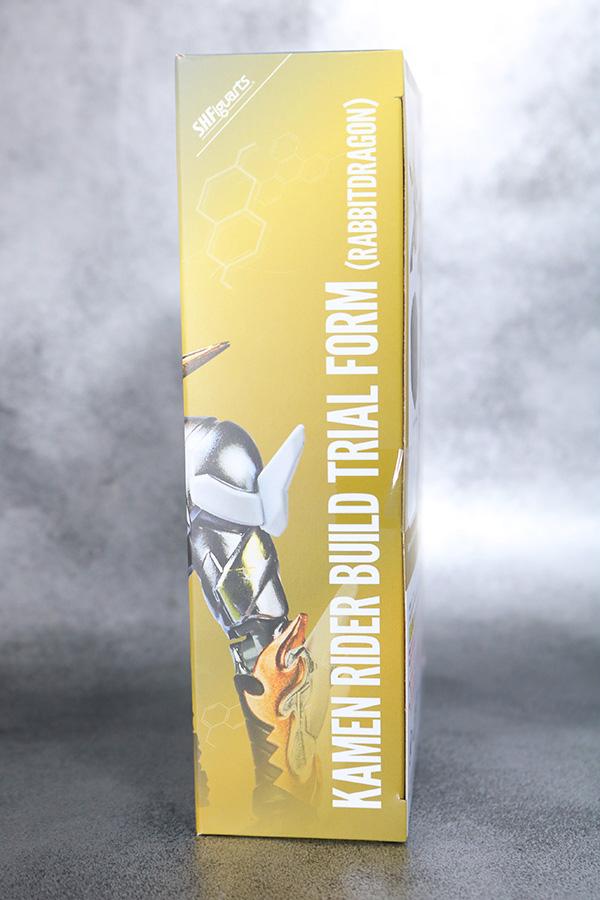 S.H.フィギュアーツ 仮面ライダービルド トライアルフォーム ラビットドラゴン レビュー パッケージ