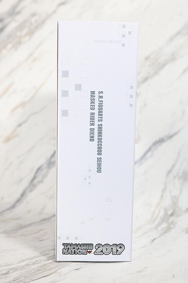 S.H.フィギュアーツ 仮面ライダーディエンド 真骨彫製法 レビュー パッケージ 魂ネイション2019