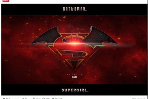 『スーパーガール』と『バットウーマン』がクロスオーバーか? - 合体ロゴも解禁!