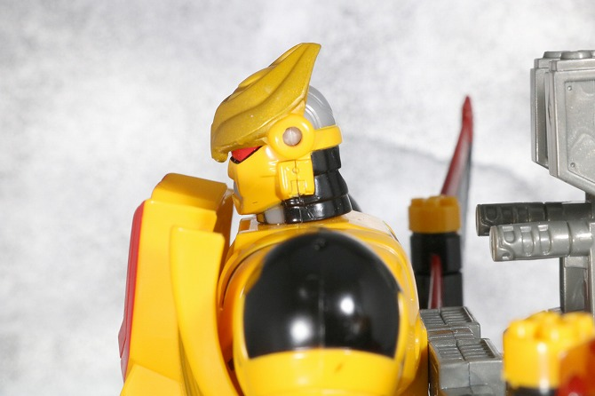 チェンジグレートメカシリーズ ガンシーサー ウォーリアモード レビュー 全身