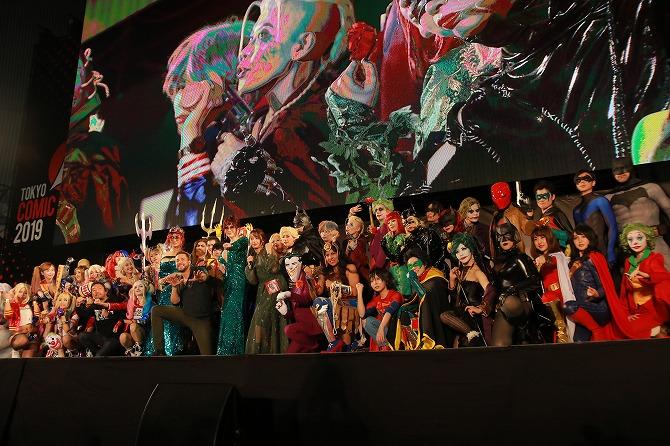 東京コミコン2019 DCコミックス コスプレステージ ザッカリー・リーヴァイ