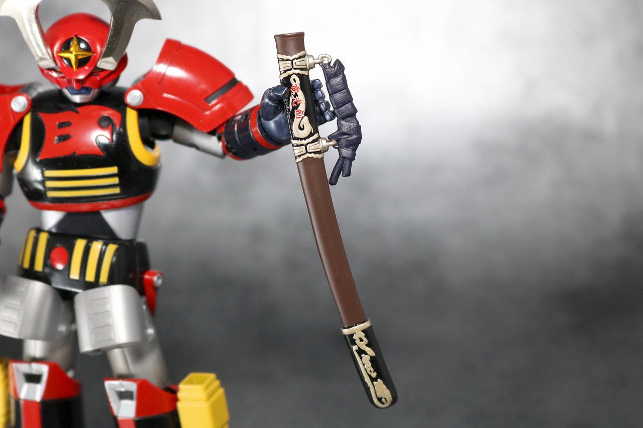 超合金魂 バトルフィーバーロボ レビュー 付属品 電光剣