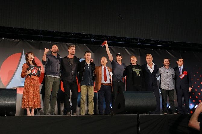 東京コミコン2019 レポート オープニングステージ クリス・ヘムズワース ジュード・ロウ ザッカリー・リーヴァイ ルパート・グリント ダニエル・ローガン イアン・サマーホルダー