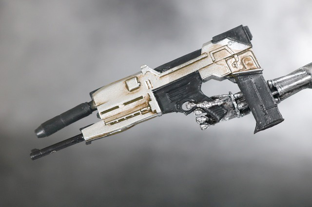 NECA T-800 エンドスケルトン ターミネーター2 レビュー 付属品 銃