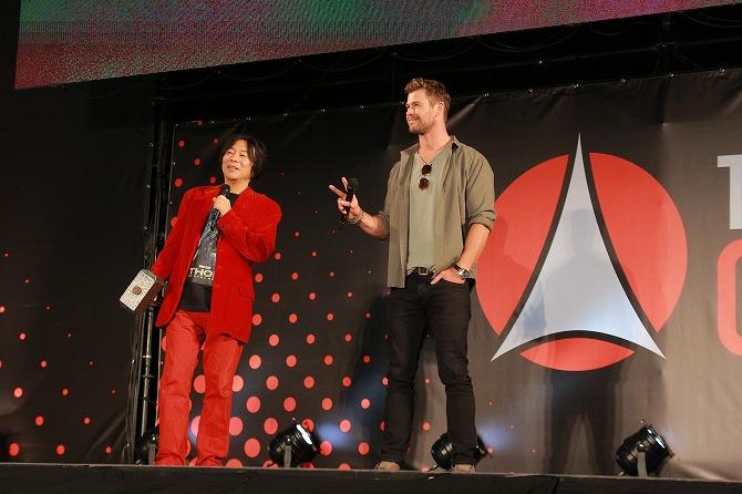 東京コミコン2019 2日目 クリス・ヘムズワース トークセッション レポート