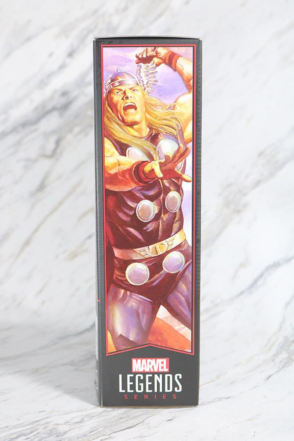 マーベルレジェンド ソー(Marvel Comics 80th Anniversary) レビュー パッケージ