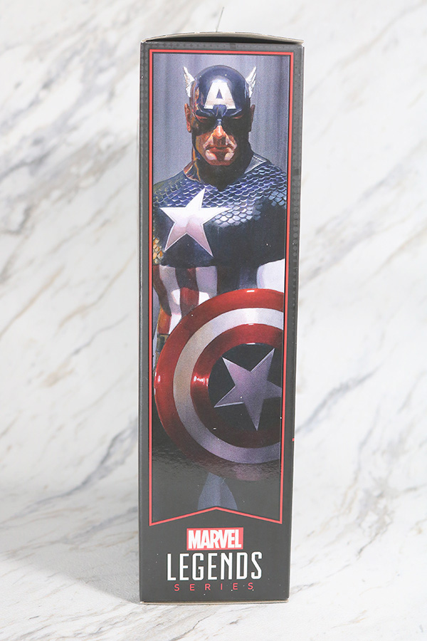 マーベルレジェンド キャプテンアメリカ(Marvel Comics 80th Anniversary) レビュー パッケージ