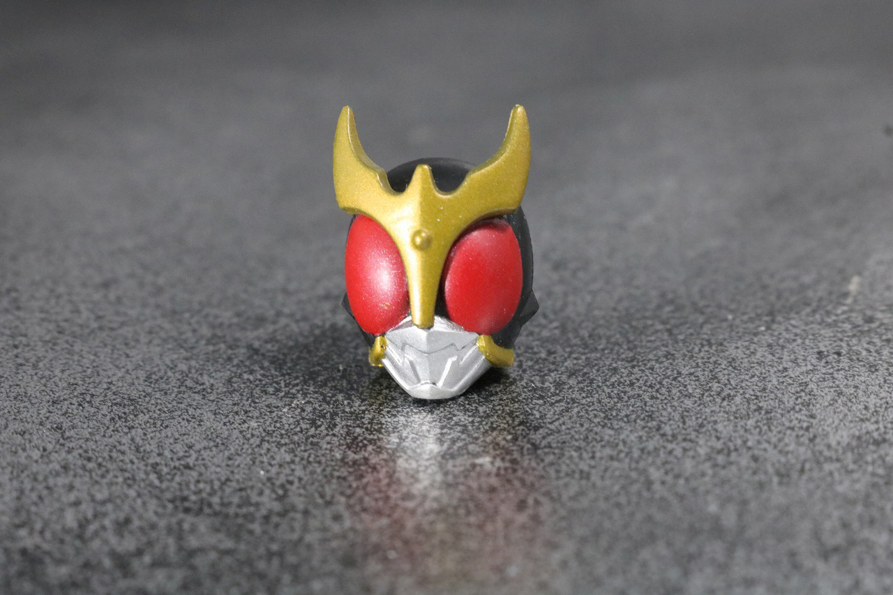 装着変身 仮面ライダークウガ マイティフォーム&グローイングフォーム レビュー 付属品 マイティフォーム アーマー
