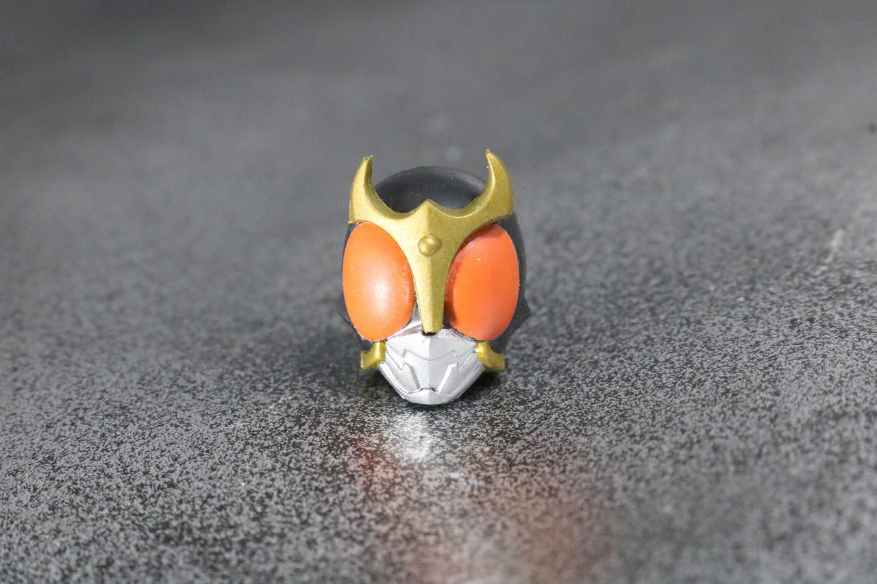 装着変身 仮面ライダークウガ マイティフォーム&グローイングフォーム レビュー 付属品 グローイングフォーム アーマー