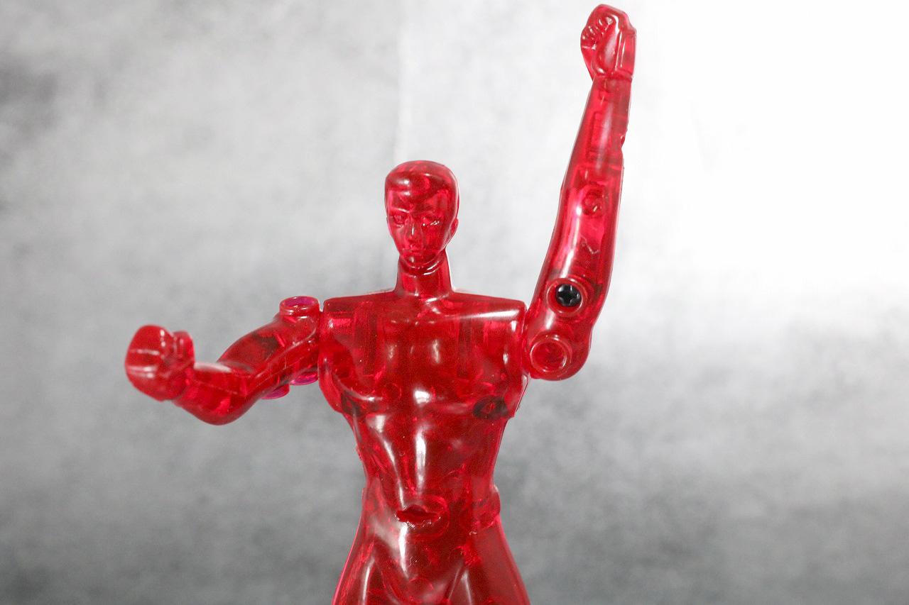 装着変身 仮面ライダークウガ マイティフォーム&グローイングフォーム レビュー 無可動素体 可動範囲