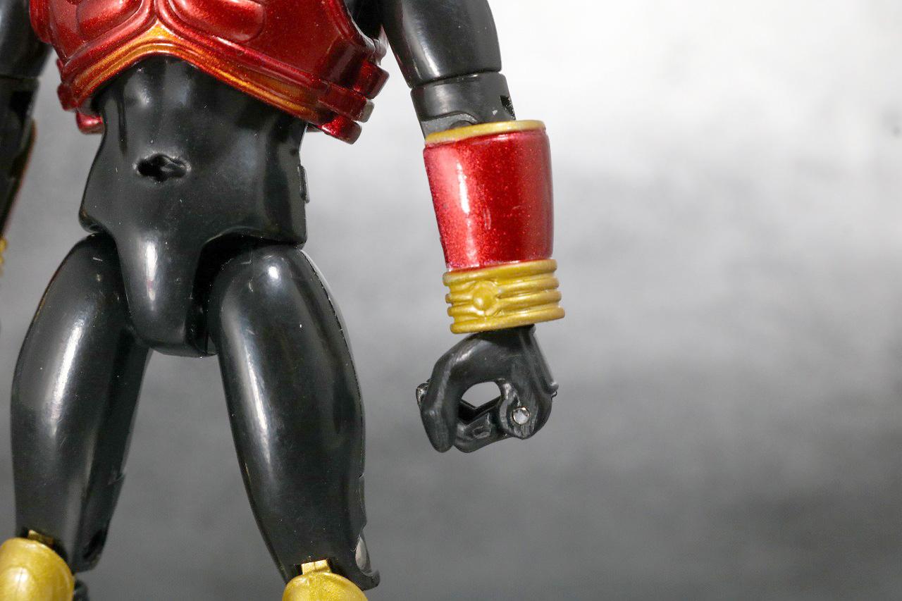 装着変身 仮面ライダークウガ マイティフォーム&グローイングフォーム レビュー 装着ギミック