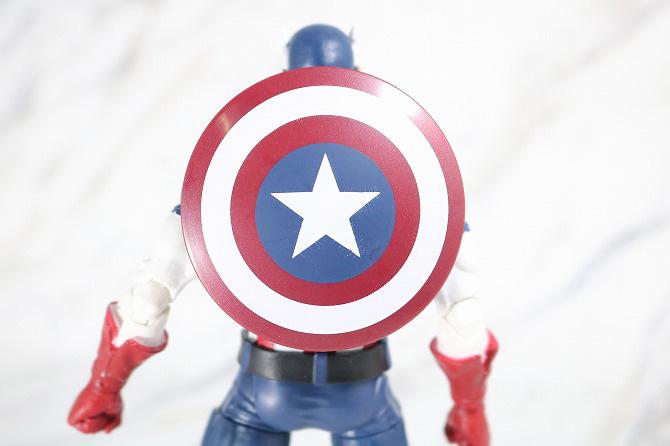 マーベルレジェンド キャプテンアメリカ(Marvel Comics 80th Anniversary) レビュー 付属品 シールド 盾