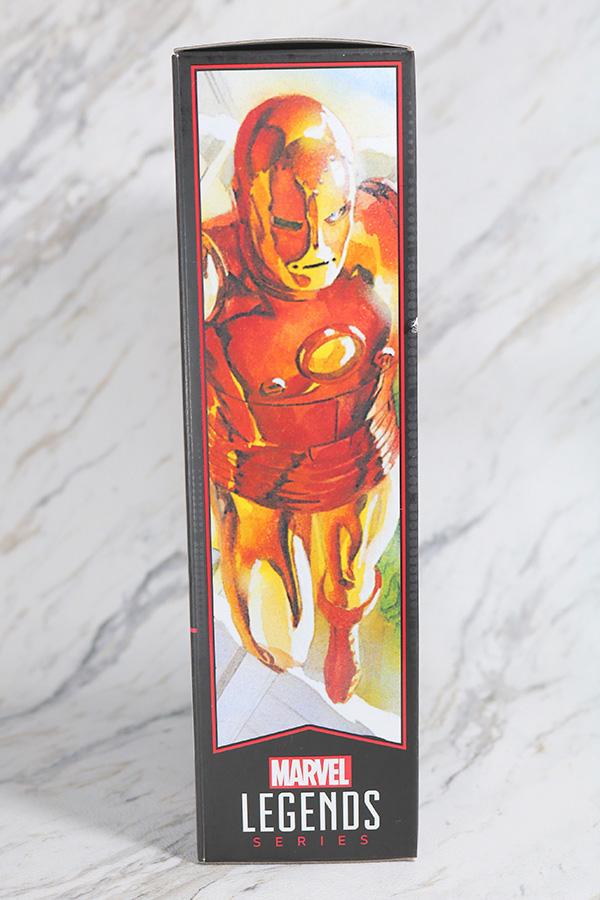 マーベルレジェンド アイアンマン(Marvel Comics 80th Anniversary) レビュー パッケージ