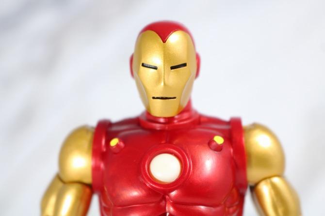 マーベルレジェンド アイアンマン(Marvel Comics 80th Anniversary) レビュー 付属品 差し替え頭部