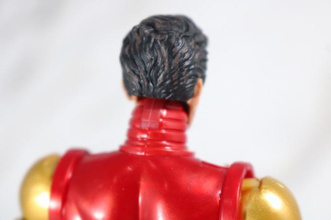 マーベルレジェンド アイアンマン(Marvel Comics 80th Anniversary) レビュー 付属品 トニー・スターク 頭部