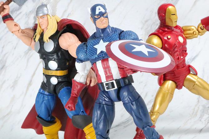 マーベルレジェンド キャプテンアメリカ(Marvel Comics 80th Anniversary) レビュー