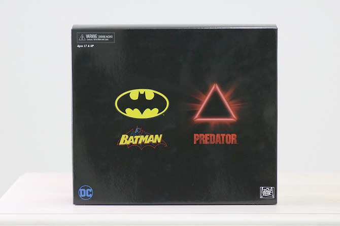 NECA ネカ バットマンVSプレデター SDCC2019限定 バットマン レビュー パッケージ