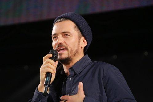 オーランド・ブルームが東京コミコンのトークセッションに登壇! - アメコミでやりたいキャラはキャプテンブリテン!