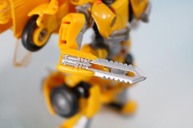 TFスタジオシリーズ SS-16 バンブルビー レビュー ロボットモード 付属品 ナイフ
