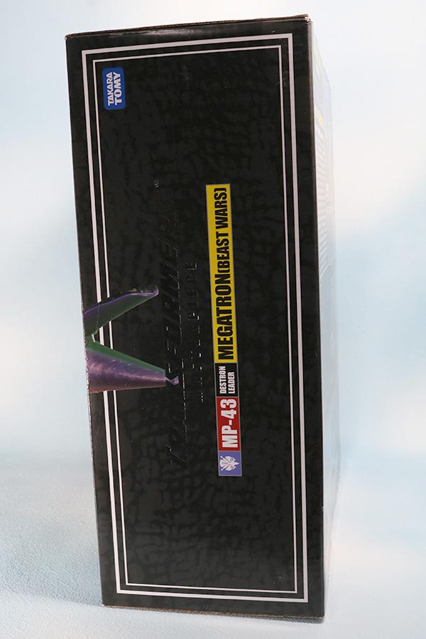 マスターピース MP-43 メガトロン ビーストウォーズ レビュー パッケージ
