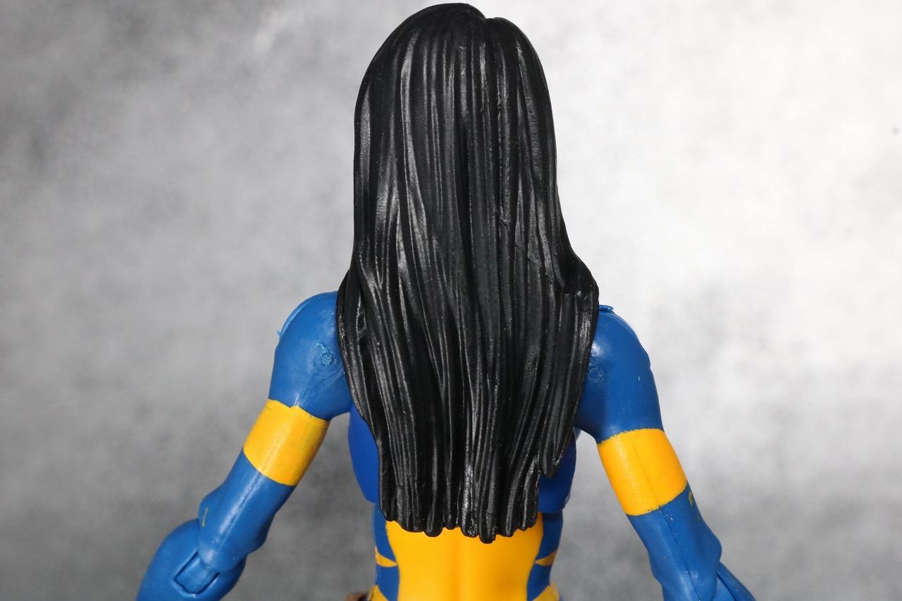 マーベルレジェンド ウルヴァリン X-23 レビュー 付属品 ローラ 素顔頭部