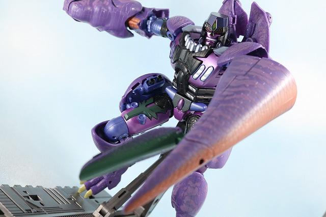 マスターピース MP-43 メガトロン ビーストウォーズ レビュー ロボットモード アクション