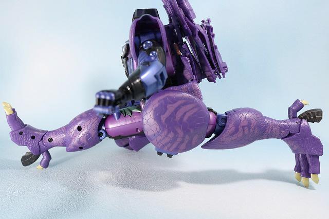 マスターピース MP-43 メガトロン ビーストウォーズ レビュー ロボットモード 可動範囲